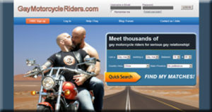 GayMotorcycleRiders.comis tailored for single male motorcycle riders who like to meet another male biker for love.